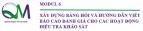 TUYỂN SINH KHÓA ĐÀO TẠO NGẮN: XÂY DỰNG BẢNG HỎI VÀ HƯỚNG DẪN VIẾT BÁO CÁO ĐÁNH GIÁ CHO CÁC HOẠT ĐỘNG ĐIỀU TRA KHẢO SÁT