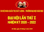 Đại hội Chi bộ Khoa Quản trị Chất lượng nhiệm kì 2020 - 2022